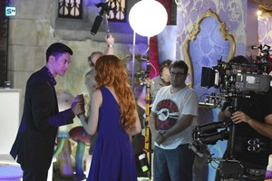 'Shadowhunters' 1x10 This World Inverted (behind the scenes)