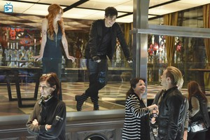 'Shadowhunters' 1x13 Morning звезда (behind the scenes)