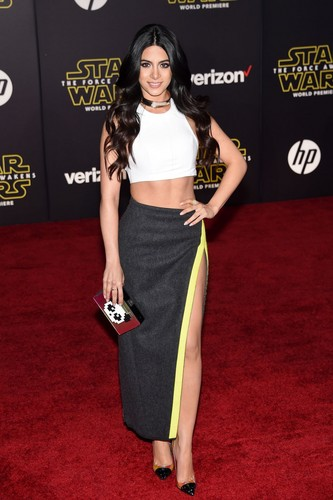 club tagged: photo emeraude toubia events star wars the force awakens