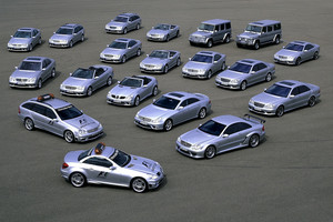 2004 AMG-Mercedes model lineup