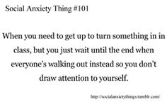 Social Anxiety 바탕화면 called Social Anxiety Thing #101