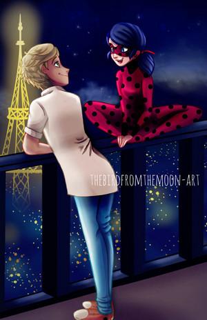 Adrien and Ladybug
