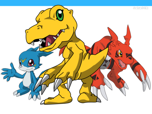 Digimon wolpeyper possibly containing anime entitled Agumon wolpeyper
