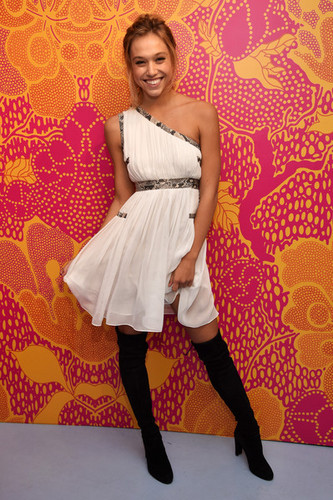 Alexis Ren wallpaper probably with a dress, a cocktail dress, and a hip boot titled Alexis Ren