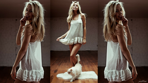 Alexis Ren wallpaper probably containing a cocktail dress, a frock, and a dress called Alexis Ren