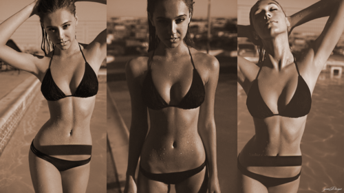 Alexis Ren wallpaper with a bikini titled Alexis Ren