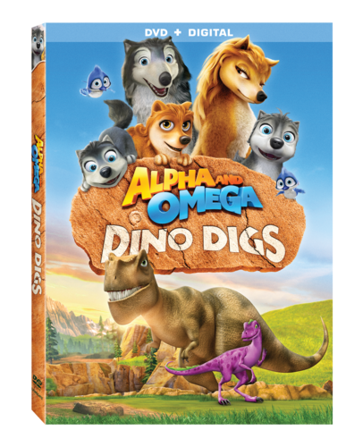 Alpha và Omega hình nền probably with anime titled Alpha and omega Dino digs DVD cover