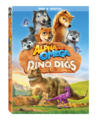 Alpha and omega Dino digs DVD cover