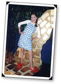 Amanda as Dorothy