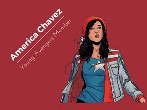 America Chavez achtergrond