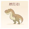 Amputee-Rex - dinosaurs fan art