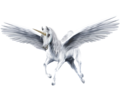 An Beautiful White Winged Unicorn - unicorns fan art