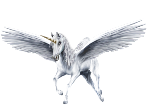 Unicorns images An Beautiful White Winged Unicorn HD wallpaper and ... Animated Pink Butterflies