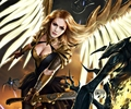 Angel - fantasy photo