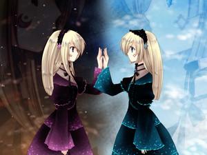 Аниме twins