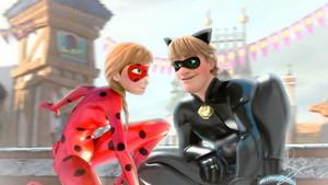 Anna and Kristoff - Miraculous Ladybug