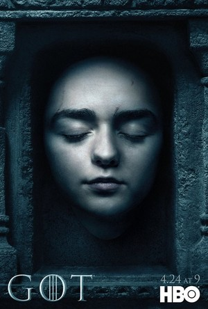 Arya Stark - Season 6- Hall of Faces Poster