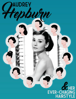 Audrey Hepburn's Best Hairstyles