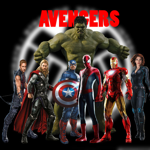 The Avengers Hintergrund probably with Anime titled Avengers