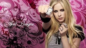 Avril Lavigne achtergronden roze