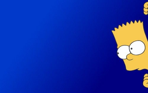 辛普森一家 壁纸 titled Bart Simpson