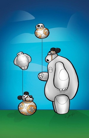Baymax and BB-8