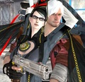 Bayonetta X Dante In the Port