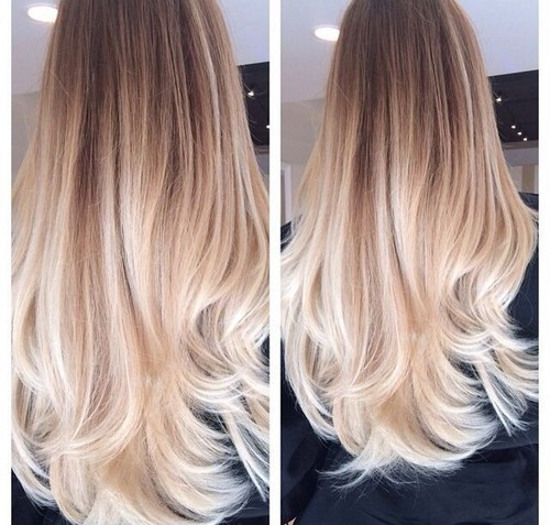 Leticiacalazans images beautiful platinum blonde ombre style leticiacalazans wallpaper probably with a portrait titled beautiful platinum blonde ombre style urmus Images