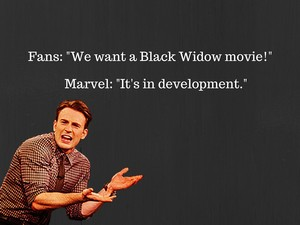 Black Widow Movie kertas dinding
