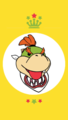 Bowser Jr Mobile Wallpaper - nintendo fan art