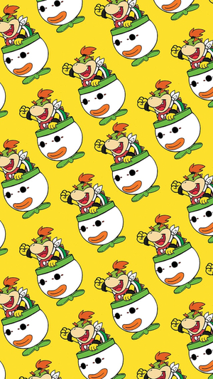 Bowser Jr Mobile kertas dinding