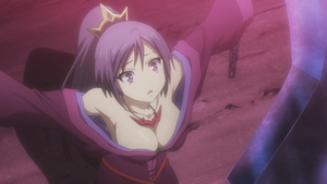 Busty Purple-Haired Maiden from the upcoming Seisen Cerberus عملی حکمت