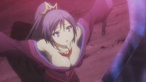 Busty Purple-Haired Maiden from the upcoming Seisen Cerberus アニメ