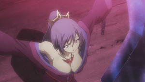 Busty Purple-Haired Maiden from the upcoming Seisen Cerberus animê