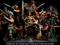 Calvin's Custom 1/6 one sixth scale Arnold Schwarzenegger as Conan the Barbarian and the destroyer a - arnold-schwarzenegger photo