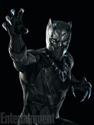 Captain America: Civil War - Black pantera