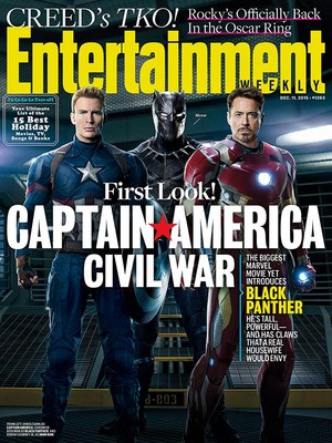 Captain America: Civil War - Entertainment Weekly