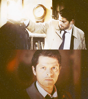 "Castiel in ""The Man Who Would Be King"""