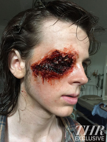 The Walking Dead karatasi la kupamba ukuta called Chandler Riggs