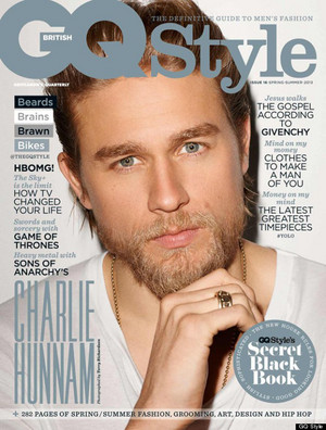 Charlie Hunnam - GQ Style Cover - 2013
