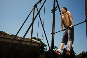 Charlie Hunnam - Men's Fitness Photoshoot - 2010