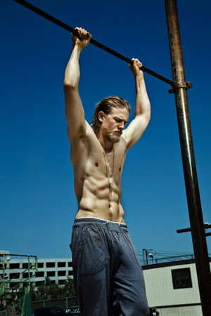 Charlie Hunnam - Men's Fitness Photoshoot - 2010
