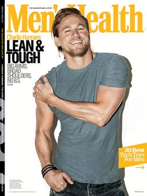 Charlie Hunnam - Men's Health Cover - 2014