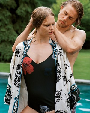 Charlie Hunnam - Vogue Photoshoot - 2014
