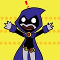 Chibi Raven-NO!!! - raven photo