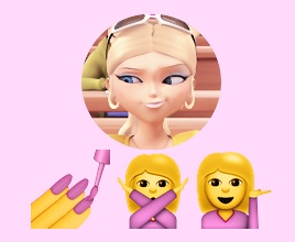 Chloé ⇨ Emojis