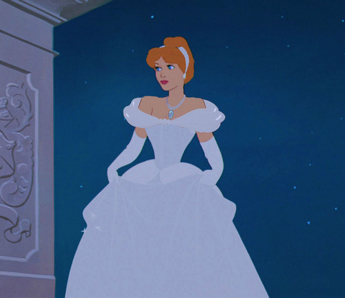 Disney Princess پیپر وال titled Cinderella Ball گاؤن, gown Make-Over