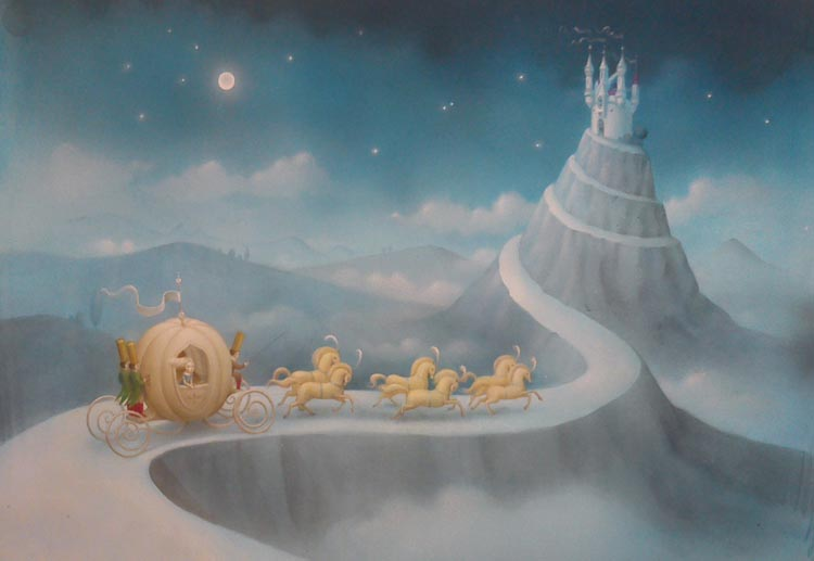 Cenicienta Por Nicoletta Ceccoli Fairy Tales Fables Foto
