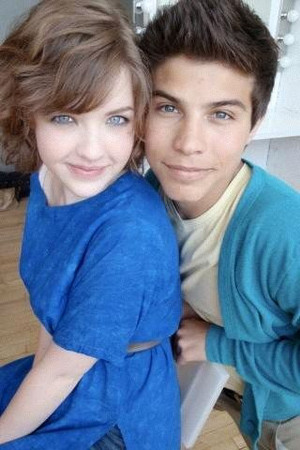 Clare Edwards and Drew Torres