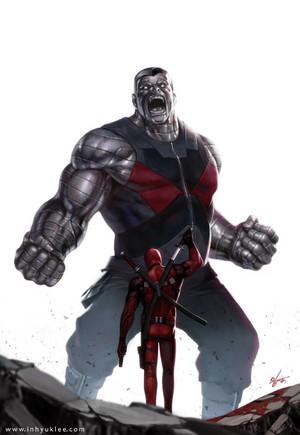 Colossus vs Deadpool